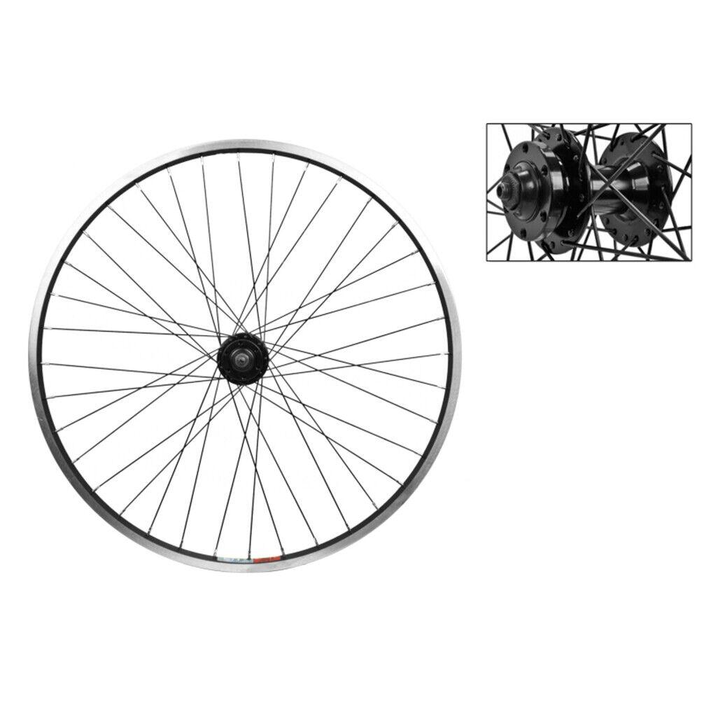 WM Wheel  Front 26x1.5 559x19 Wei Zac19 Bk Msw 36 Aly 3//8 Bo Bk Dti2.0sl
