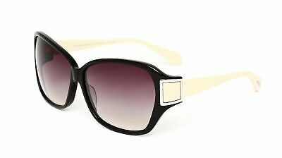 OLIVER PEOPLES Vanadis BK Sunglasses Glossy Black ~ Violet Gray Gradient ~ 62mm