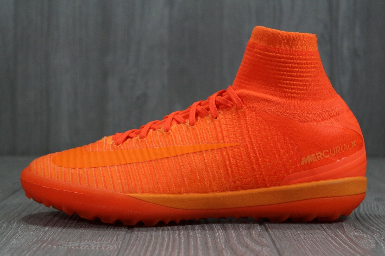 37 Nike MercurialX Proximo II TF Turf Mens Soccer shoes orange 9 12 831977-888