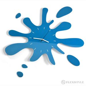Moderne-Large-Bleu-Horloge-Murale-Home-Decoration-Salon-Chambre-Cuisine
