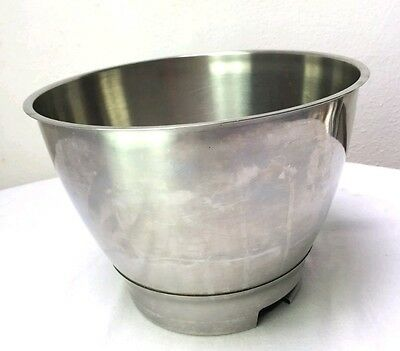 Kenwood Chef Stainless Steel Mixer Bowl - Part No.17551. Fits A701A/A901+ Others