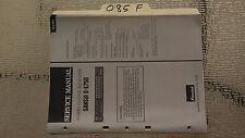 Sansui g-e750 service manual original repair book stereo graphic eq equalizer