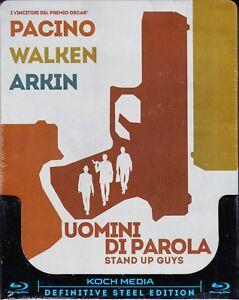 Blu-ray-SteelBook-UOMINI-DI-PAROLA-STAND-UP-GUYS-con-Al-Pacino-nuovo-2013