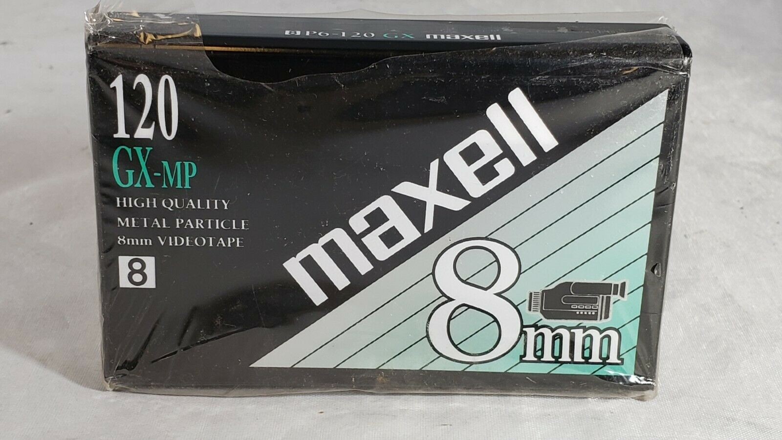 Maxell 8mm GX-MP 8 VHC High Quality 120 Minute Video Cassette for Camcorders