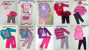 BABY-TODDLER-GIRLS-Old-Navy-Disney-Swiggle-2PC-3PC-SET-Tops-amp-Leggings-0-3M-4T