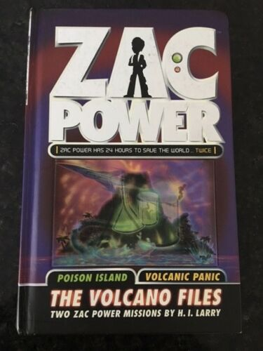 1 of 1 - Zac Power - The Volcano Files by H. I. Larry (Hardback, 2008) Used
