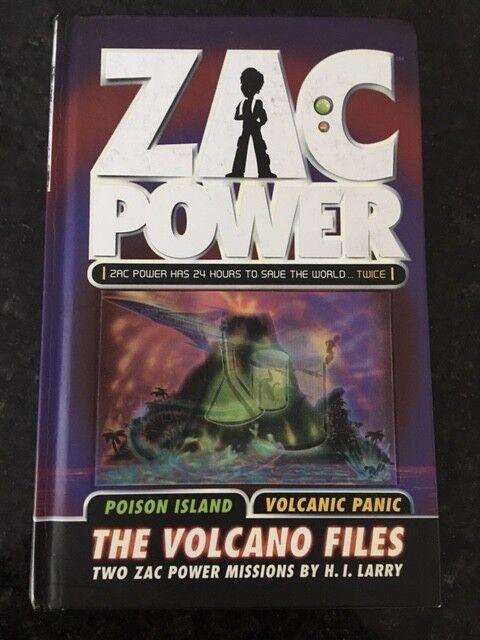 Zac Power - The Volcano Files by H. I. Larry (Hardback, 2008) Used