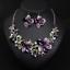 Fashion-Women-Pendant-Crystal-Choker-Chunky-Statement-Chain-Bib-Necklace-Jewelry thumbnail 83