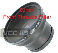 Wide Angle 0.43x Lens For Canon Vixia Hf G20 Hfg20 Xa10 Xa10rfd Xf100 Wd-h58w