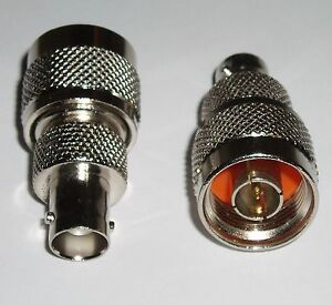 2-Pack-N-Male-to-BNC-Female-Coax-RF-Adapters-Connectors