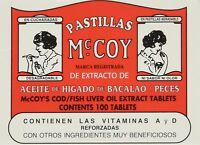 Pastillas Mccoy 100 Count - Tablets