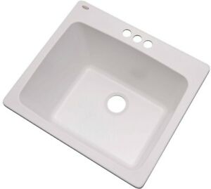Image Is Loading Laundry Room Utility Sink Single Bowl Drop In