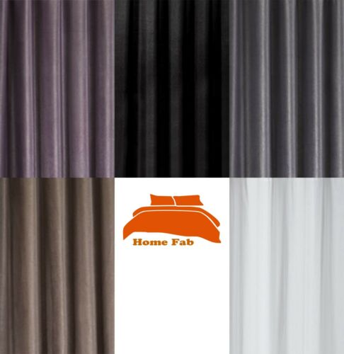 Texured 3 Pass Thermal Blackout Curtain Lining Fabric Material 150cm Wide