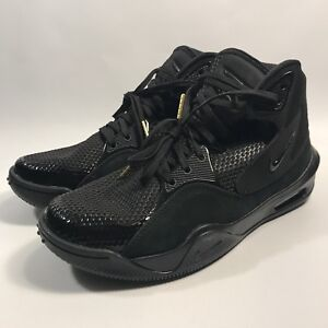 size 40 fb27b 20e76 Nike Dangeruss Wilson 1 Trainer Shoes Black Metallic Gold AO0846-017 ...
