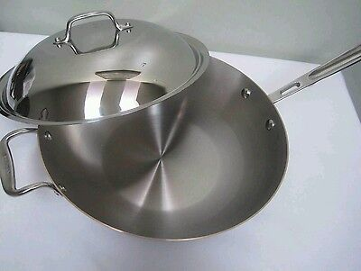 New Chef S Wok All Clad Copper Core 12 Quot Inch 4qt Chef S