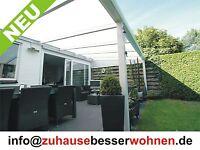 Terrassenüberdachung Aluminium Terrassendach Carport mit 16mm Stegplatten 4x3,5m