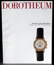 Catalogue Dorotheum, 12 juin 2015 montres Armband- und Taschenuhren EX+