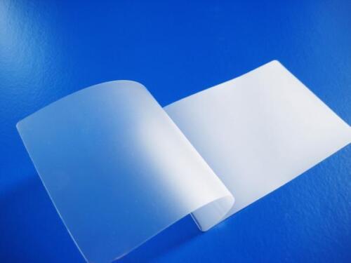 A4 Heat Seal MATT Finish Clear Transparent Laminating Pouches Anti Glare Sheets