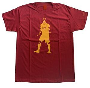 Dettagli su T-Shirt As Roma Daniele De Rossi. T-Shirt Personalizzata. Maglia As Roma.