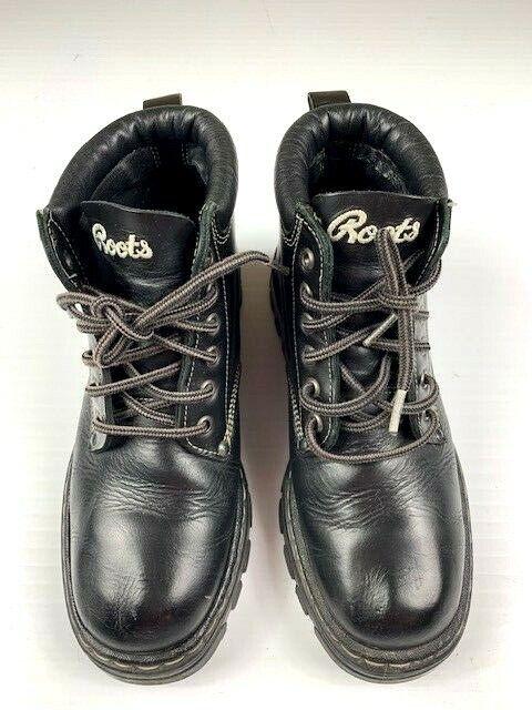 botas de cuero grises, tobillos masculinos, 8,5 yardas negras.