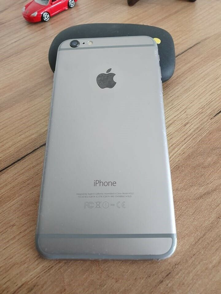 iPhone 6 Plus, 16 GB, hvid