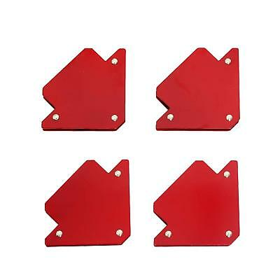 4PCS Welding Magnet Magnetic Square Welder Holder Arrow Clamp 90° 135° Nice U4L3