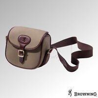 Browning Bag Heritage Canvas & Leather Cartridge Bag (1218940b)