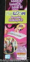 Kids Fun Loom Bracelet Making Kit Age 8+ Includes 600 Bands In Box
