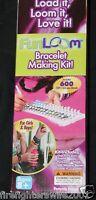 Kids Fun Loom Bracelet Making Kit Age 8+ Includes 600 Bands In Box