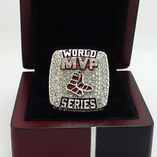 Year 2013 Boston Red Sox MVP FOR ORTIZ World Series Championship Ring 8-14Size