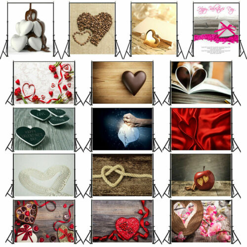 27 Patterns LOVE Photography Backdrops Photo Video Props Background Wedding DIY