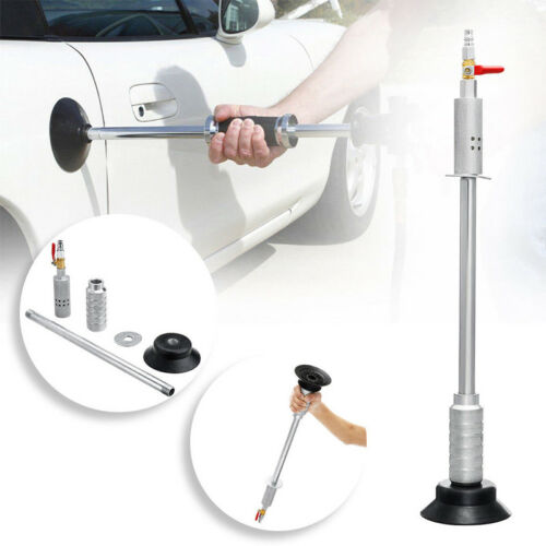 Car Body Repair Air Pneumatic Dent Puller Suction Cup Slide Tool Hammer Useful