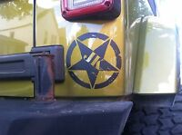 Jk Jeep Wrangler Mike Freedom Star Limited Edition Decal