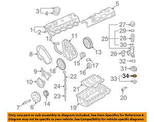 [SCHEMATICS_4FR]  VW VOLKSWAGEN OEM 09-14 Jetta Engine Parts-Cover Gasket 038117070   eBay   09 Jetta Engine Diagram      eBay