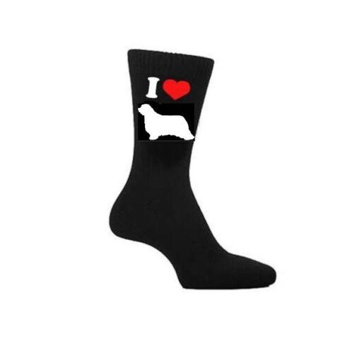 I Love Bearded Collie Calzini segugi da i proprietari di cani Calzini Novità Regalo
