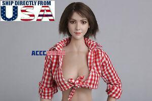 1/6 tête féminine asiatique B de sculpture pour 12 1/6 Asian Female Head Sculpt B For 12
