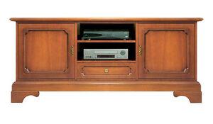 Meuble Tv style classique en bois, meuble 2 portes, meuble de salon ...