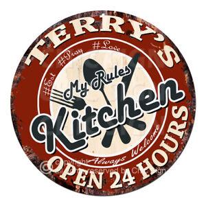 CWMK-0253 TERRY'S KITCHEN Rules Tin
