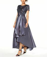 f366ba71d87 item 3 R M Richards Petite Sequin   Satin Gown Dress 10P NWT New -R M  Richards Petite Sequin   Satin Gown Dress 10P NWT New