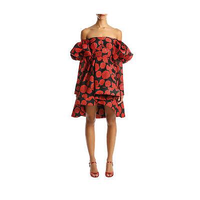 NEW NICOLA FINETTI NFD4015B MIMMI DRESS Red