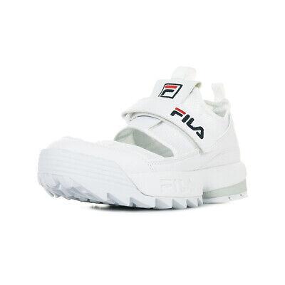 Chaussures Baskets Fila femme Disruptor Half Sandal Wn's taille Blanc Blanche | eBay