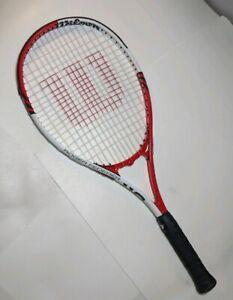 Détails sur Wilson Roger Federer Raquette de tennis 110 4 12