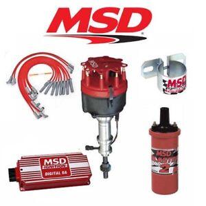 msd 90141 ignition kit digital 6a distributor wires coil ford 351c mla foto se está cargando msd ignition kit digital 90141 6 a distribuidor