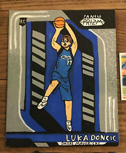 2018-19-Panini-Prizm-Luka-Doncic-Rookie-Card-280-Canvas-Painting-young-artist