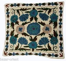 40x40 cm exklusiv Orient handbestickte kelim sumakh Kissen Sitzkissen cushion N4