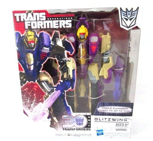 Transformers voyager palpitante 30   blitzwing   mosc mib uk classics pas G1 HASB