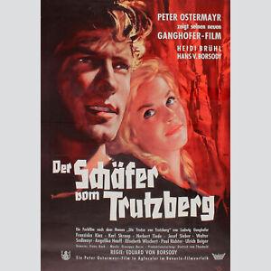 * Originales Filmplakat Der Jäger von Fall Ludwig Ganghofer um 1950