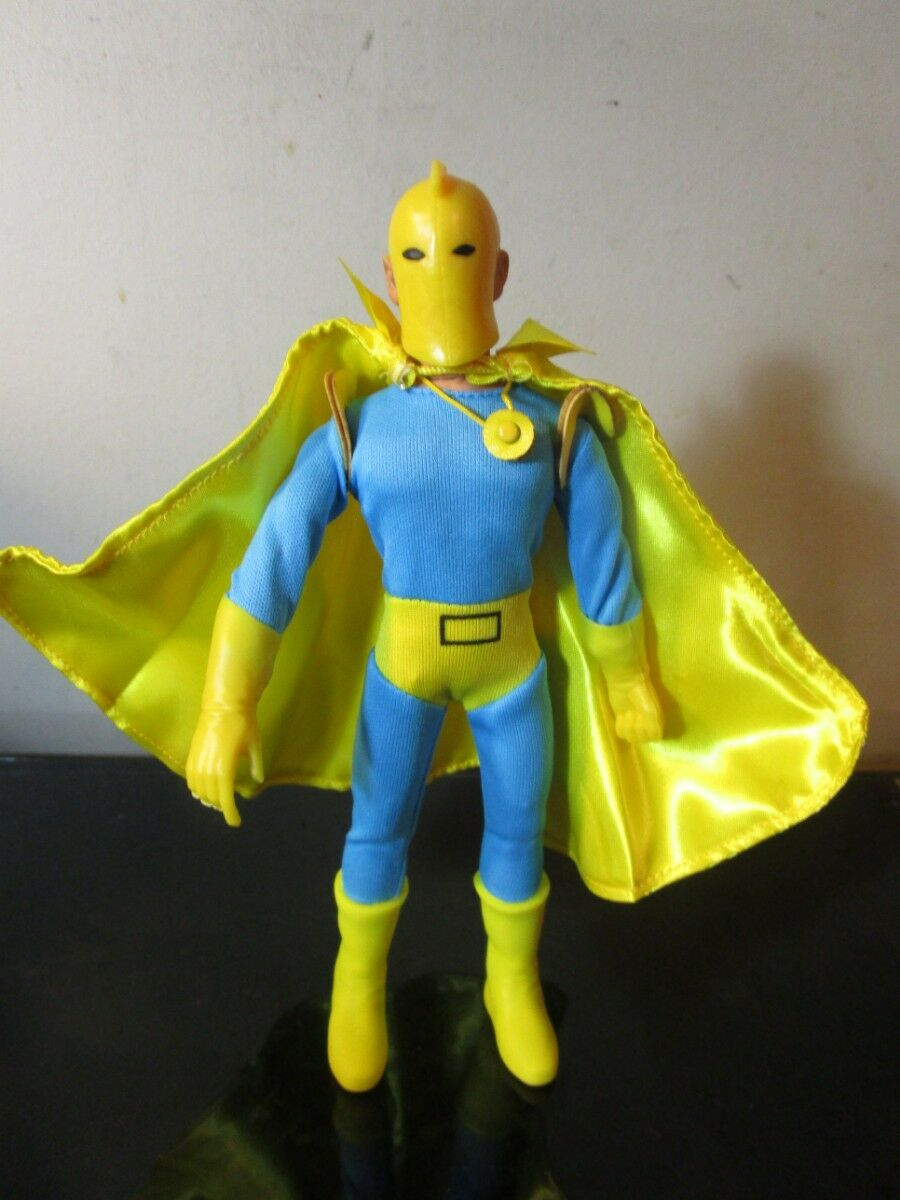 DC Comics 8 Inch Action Figures With Mego-Like Retro Cards  Dr. Fate