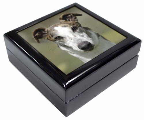 Greyhound Dog Keepsake//Jewellery Box Christmas Gift AD-GH5JB