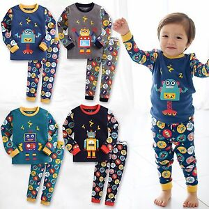 60164df4cd92 Vaenait Baby Infant Toddler Kids Boys Clothes Pajama Set